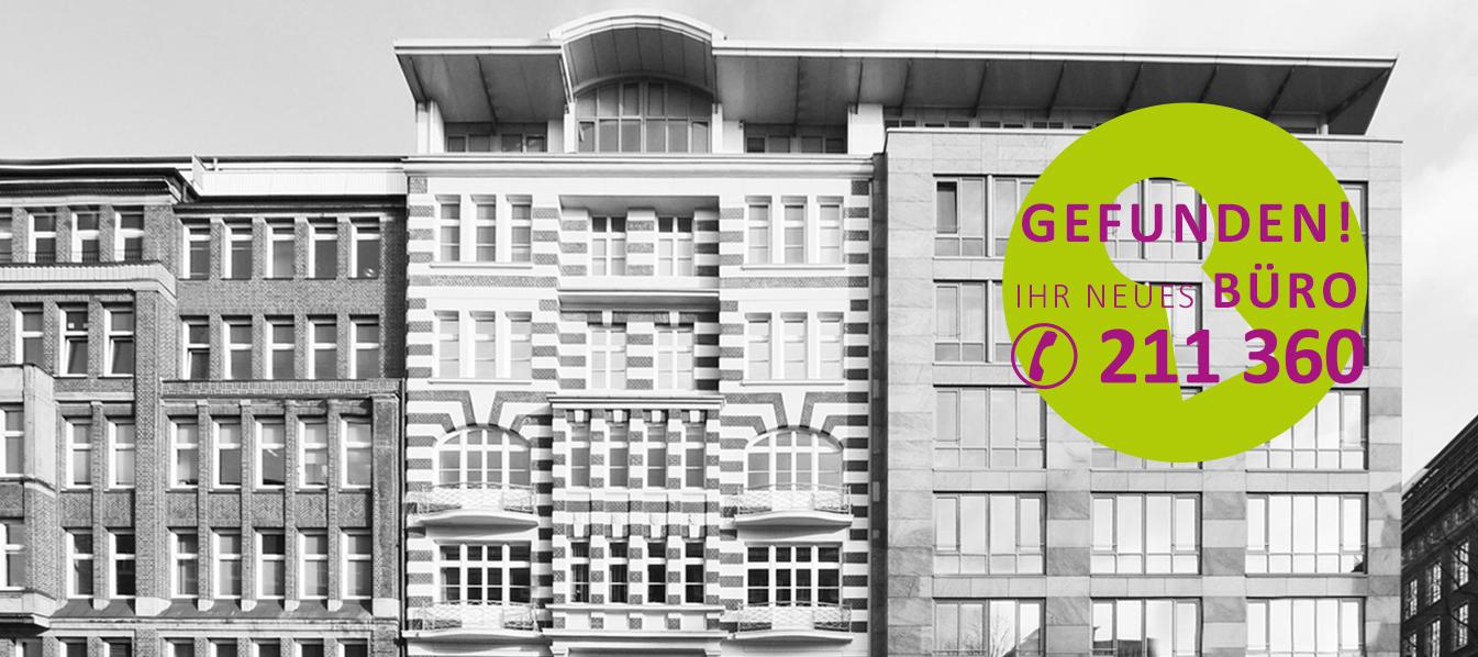 Günstige Büros in der Hamburger Innenstadt mieten